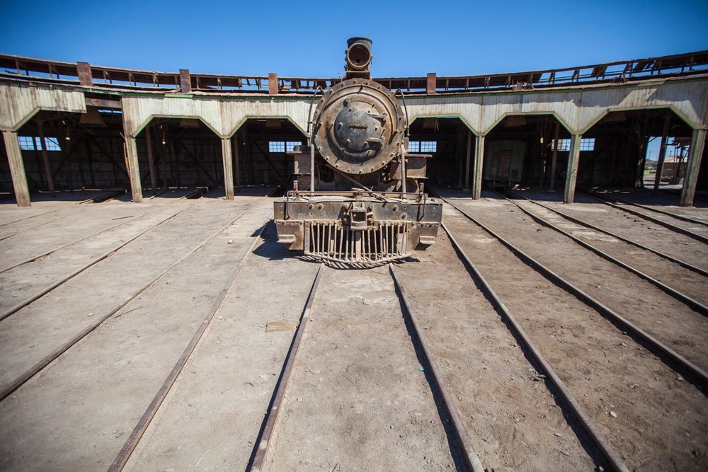 Train Graveyard: Atacama Desert, Chile