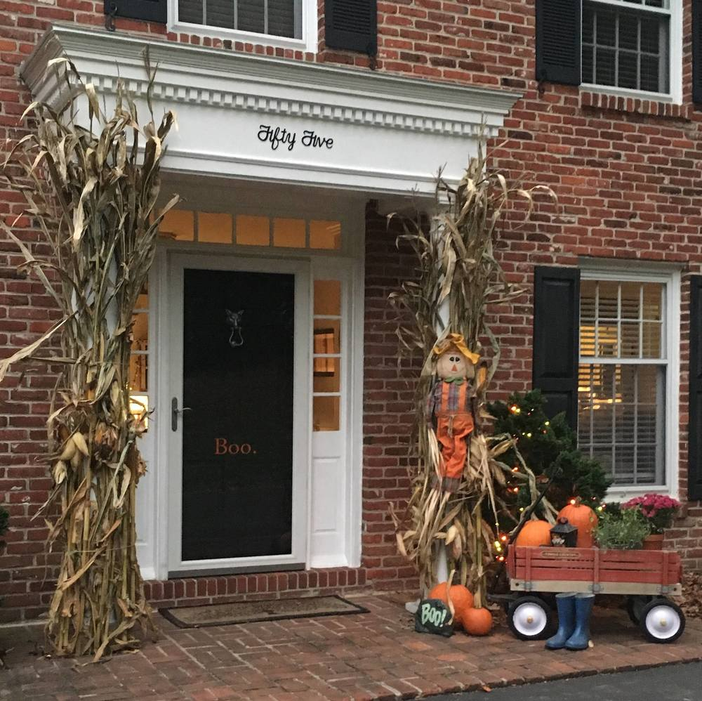 ... carved ones look like they should be on display in a museum rather than on a doorstep. When did Halloween become such an elaborate decorating holiday? & What was and what is \u2014 Inch by Inch Publications