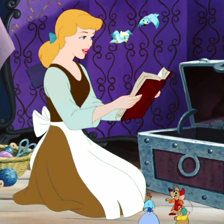 cinderella reading to the animals.jpg