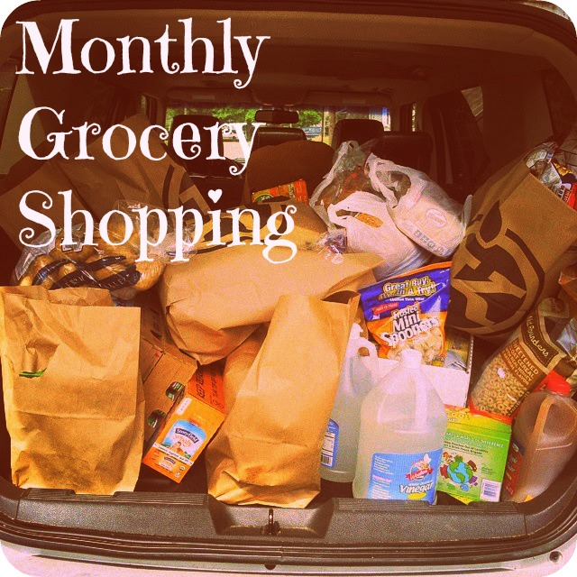Monthly grocery Shopping at Super Busy at Home.   Money saving, budget conscious ways to save money for your family!