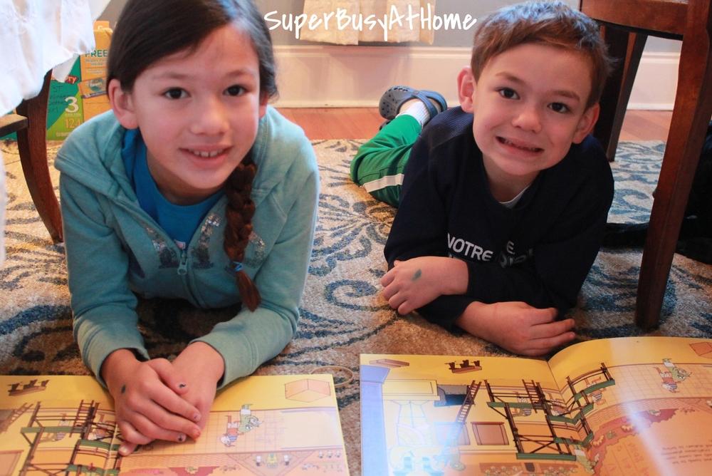 Usborne Egyptian Mummies Sticker Book Giveaway on Super Busy at Home #superbusyathome #usborne