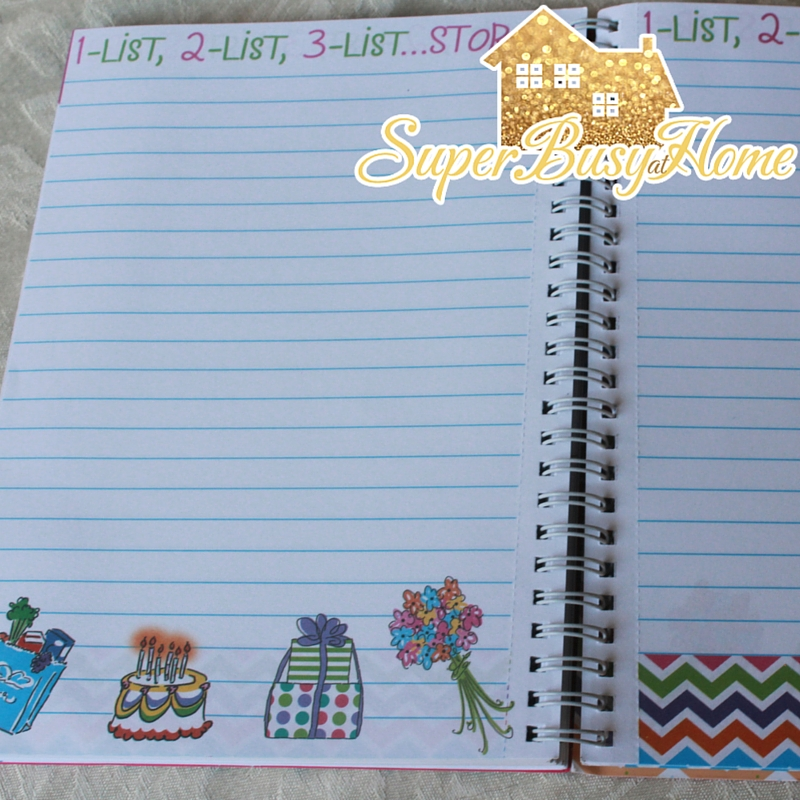 Reminder Binder Review at Super Busy at Home