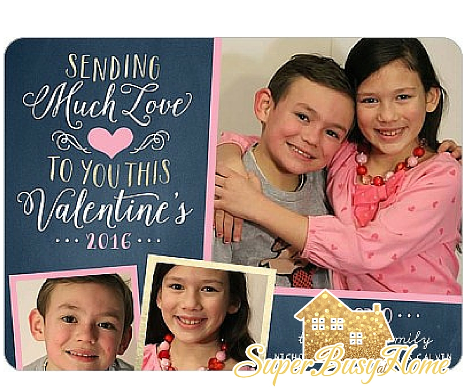 Order your Valentine's from Shutterfly.  Get all the details at Super Busy at Home!