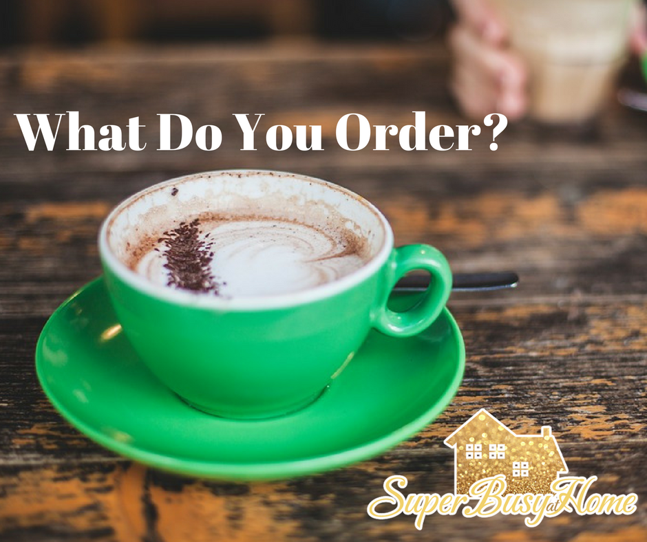 Coffee Shop Work Sessions are wreaking havoc on my no-spend challenge.  What do you order to save money?