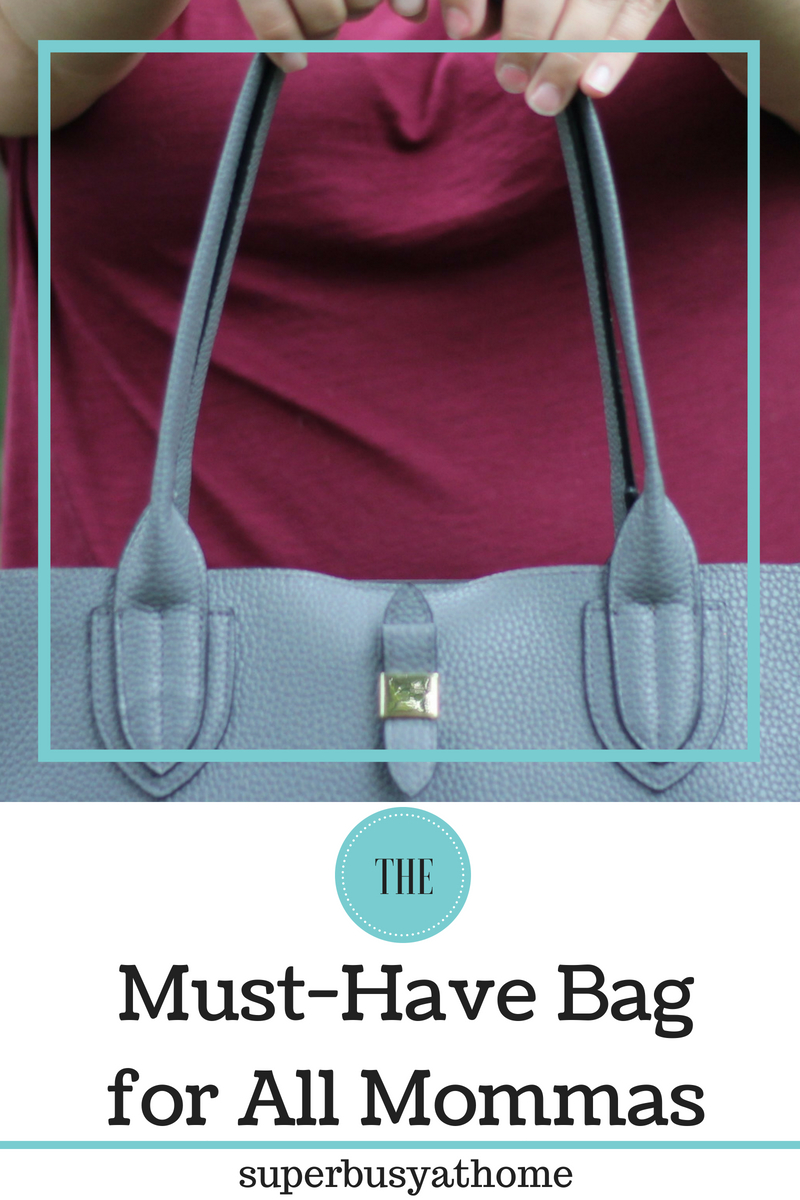 A cute tote that will hold all of your mom gear for you?  It really does exist! Super Busy at Home has all the information and suggestions.  #superbusyathome #momlife #momfashion