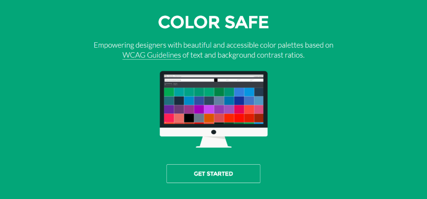 Color Safe creates accessible color palettes for your site or app based on Web Content Accessibility Guidelines (WCAG).