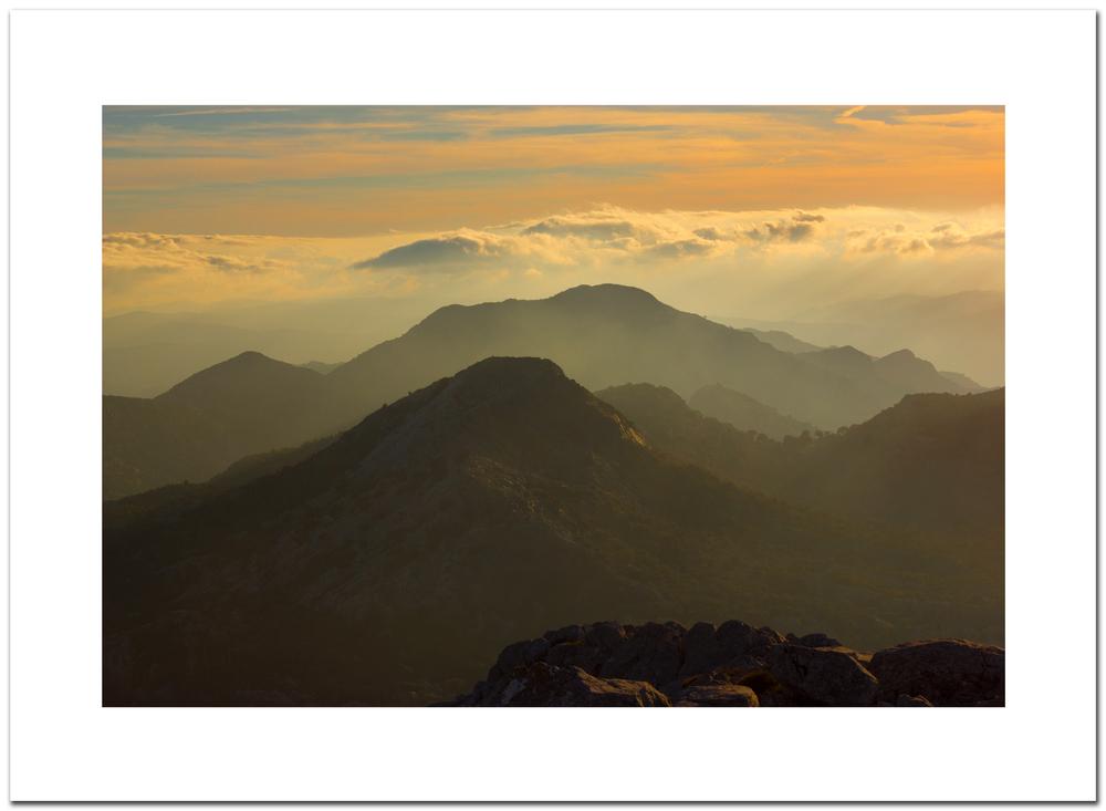 Fotografia realizada con un 50mm f/1.8 desde la cumbre.