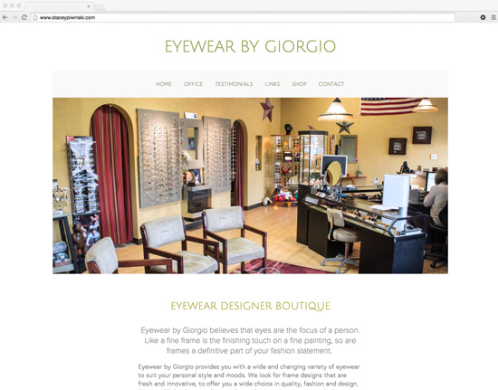 Eyewear By Giorgio - eyewear boutique