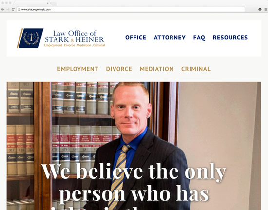 Law Office of Stark & Heiner - Law Practice