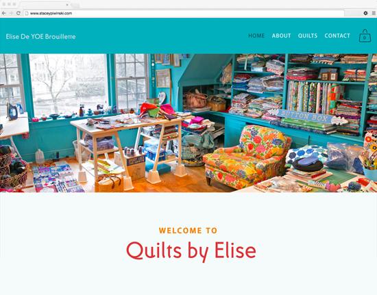 Elise De YOE Brouillette - quilt artist