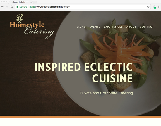 Homestyle Catering - catering