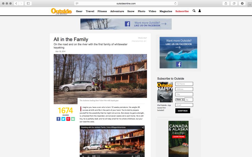 Jackson FamilyMagazine Article / Click to View