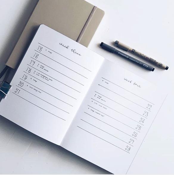Tip: - Yo hago una lista en un papel (a la antigua) con