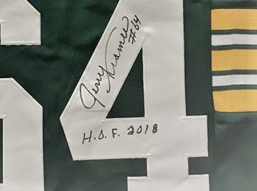new concept 85684 f9dc4 HOF 2018 Autographed Kramer Replica Classic Jersey (Limited Quantity) —  Jerry Kramer