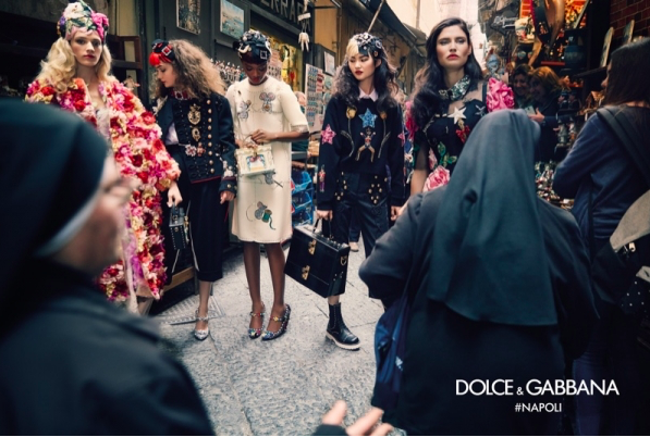Dolce & Gabbana A/W 16 Advertising Campaign