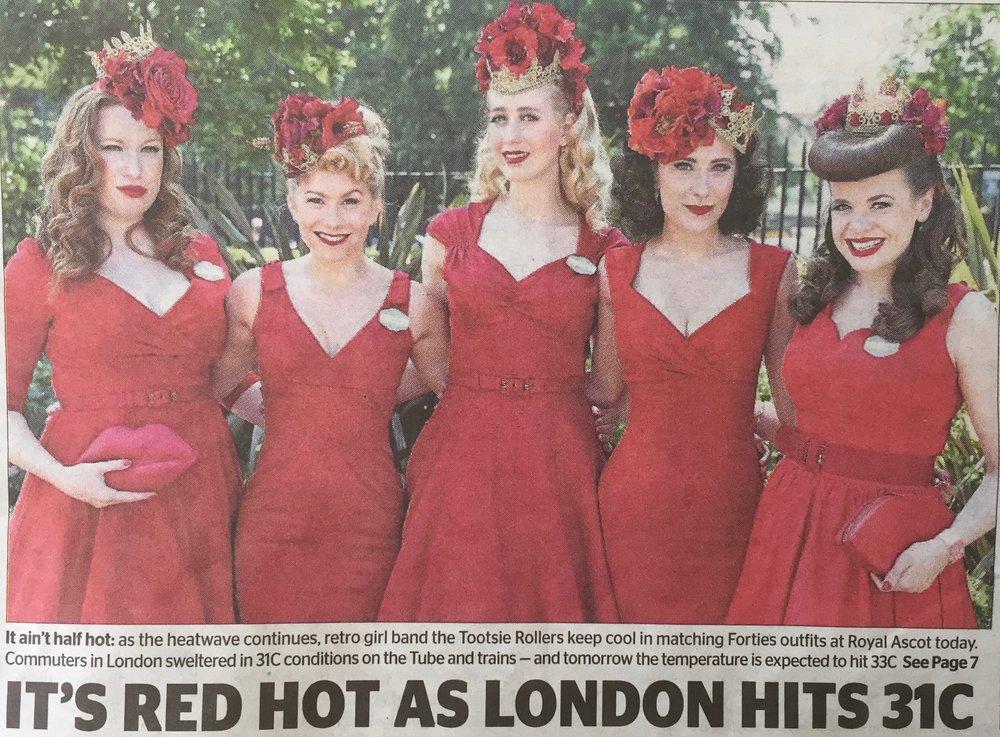 The Evening Standard Newspaper, 21.6.17