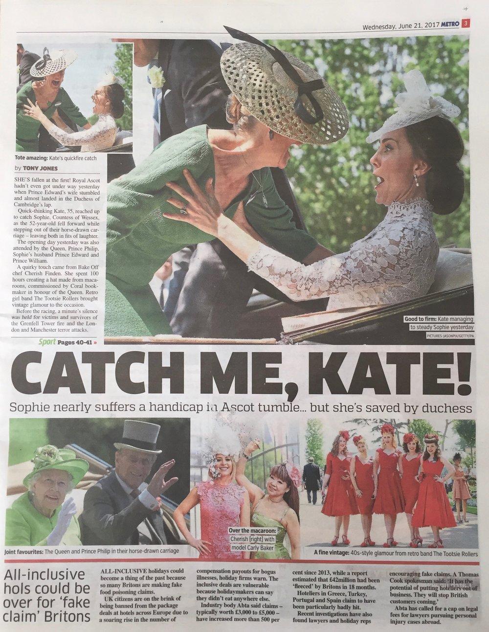 The Metro Newspaper, 21.6.17