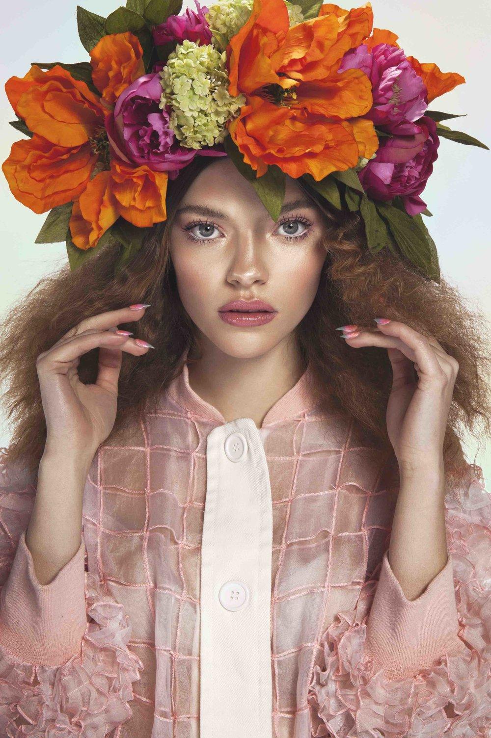 'Freya' flower crown