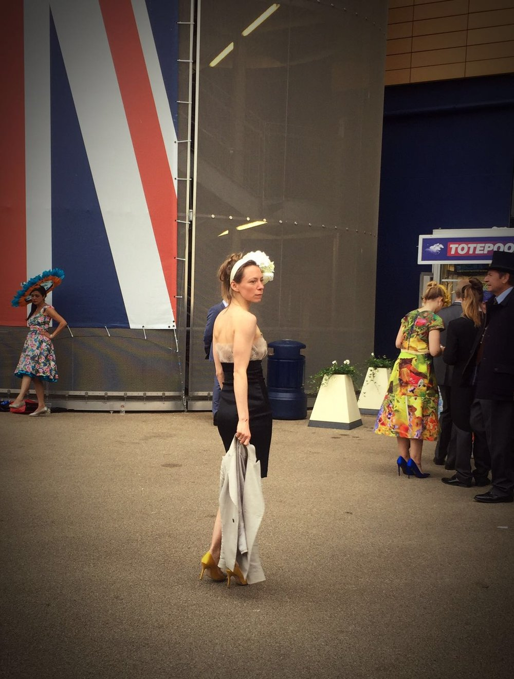 Floral fashion at Royal Ascot