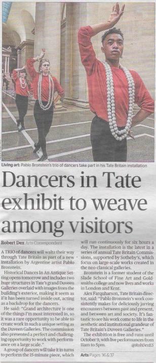 The Evening Standard  25.4.16