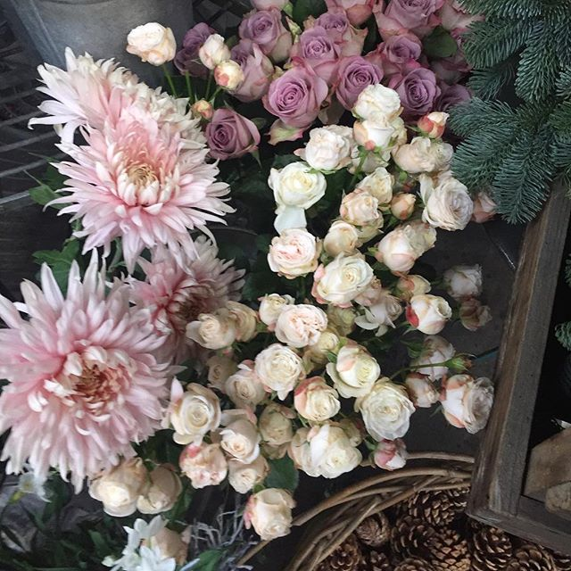 Beautiful flowers at @wildathearthq  at @libertylondon 💕 #flowers #florist #floristry #liberty #london