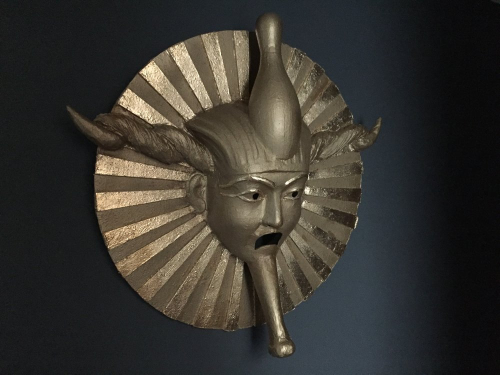 Mask for Pablo Bronstein