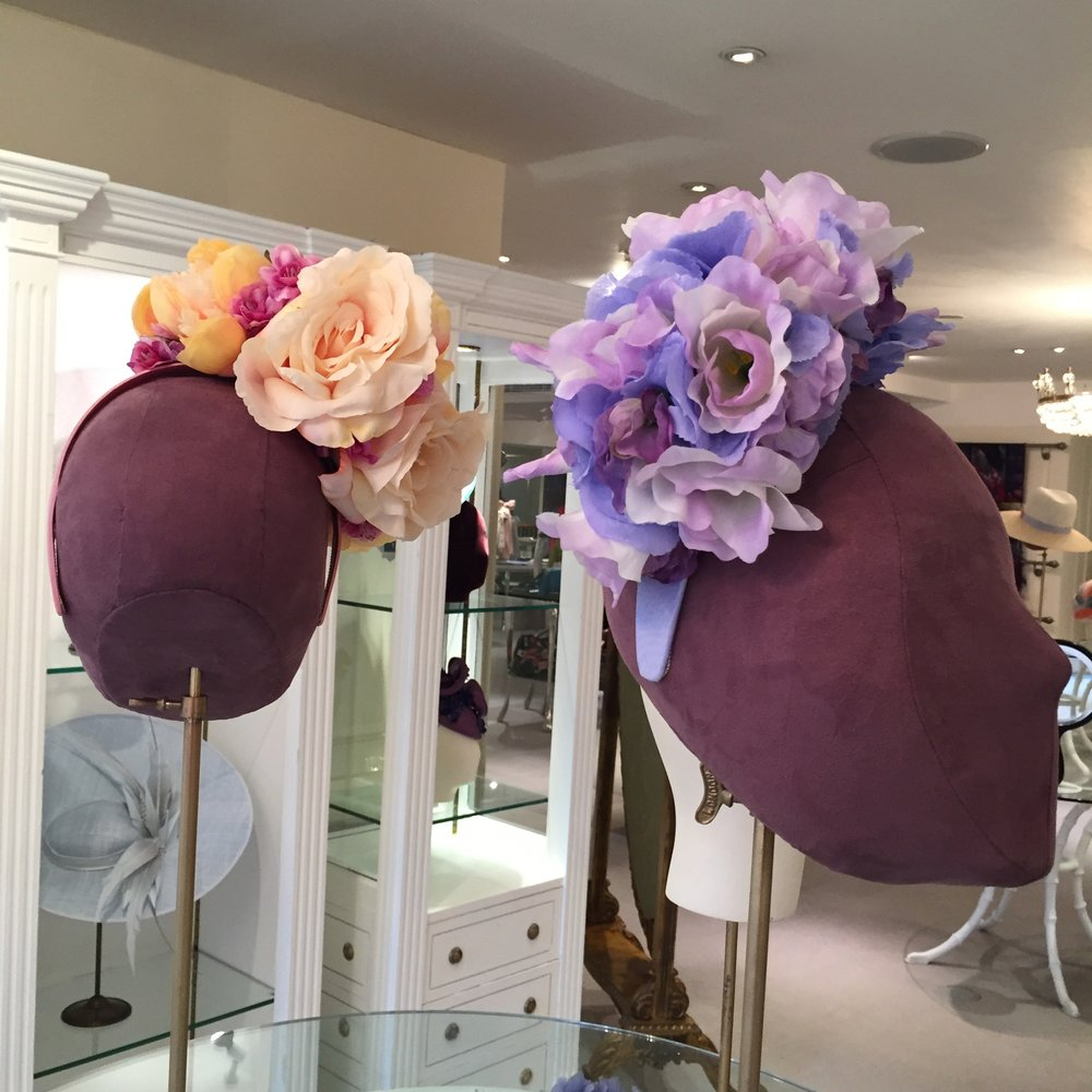 Floral fashion at Fortnum & Mason