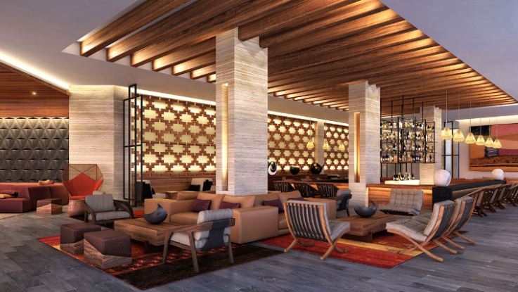 Saasil Bar - The breezy lobby bar with indoor and outdoor seating and stunning ocean views