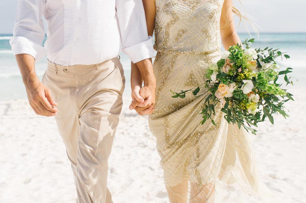 Destination Wedding - Beach Ceremony - Mexico