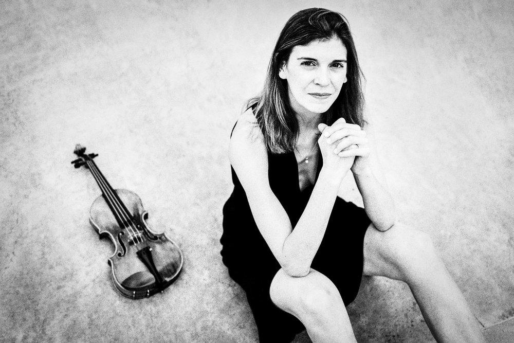 Jane Kittredge, violinist, 2018
