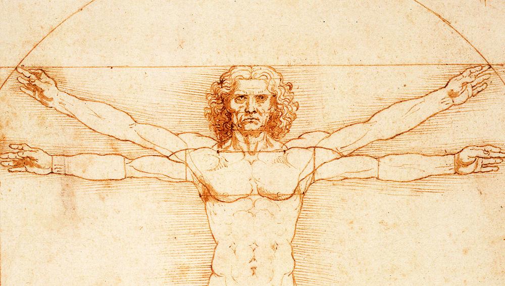 Virtruvian Man, Leonardo da Vinci