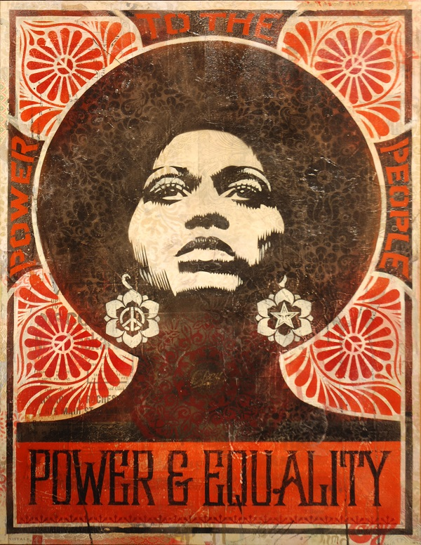 Shepard Fairey - AFROCENTRIC, 2007