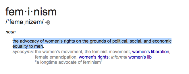a description of general definition feminism the movement for equality for women What was the goal of the feminist movement—to create full equality of feminism the women's movement of the a neutral objective tone for a general.