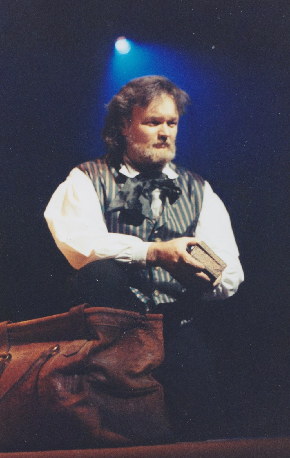 Leigh McRae performing in the the musical Les Misérables, circa 1994.