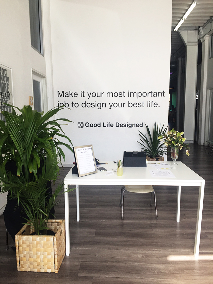 good life designed event at Unique space in LA downtown