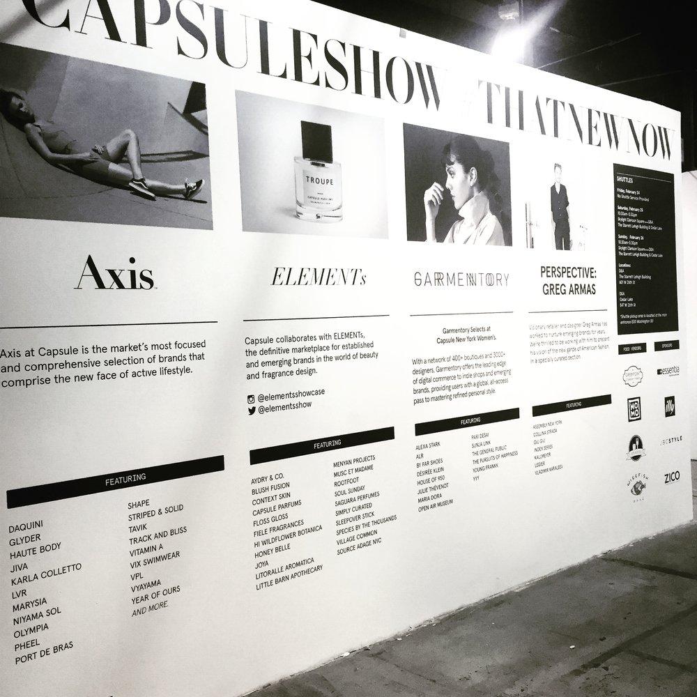 capsule NY 2017