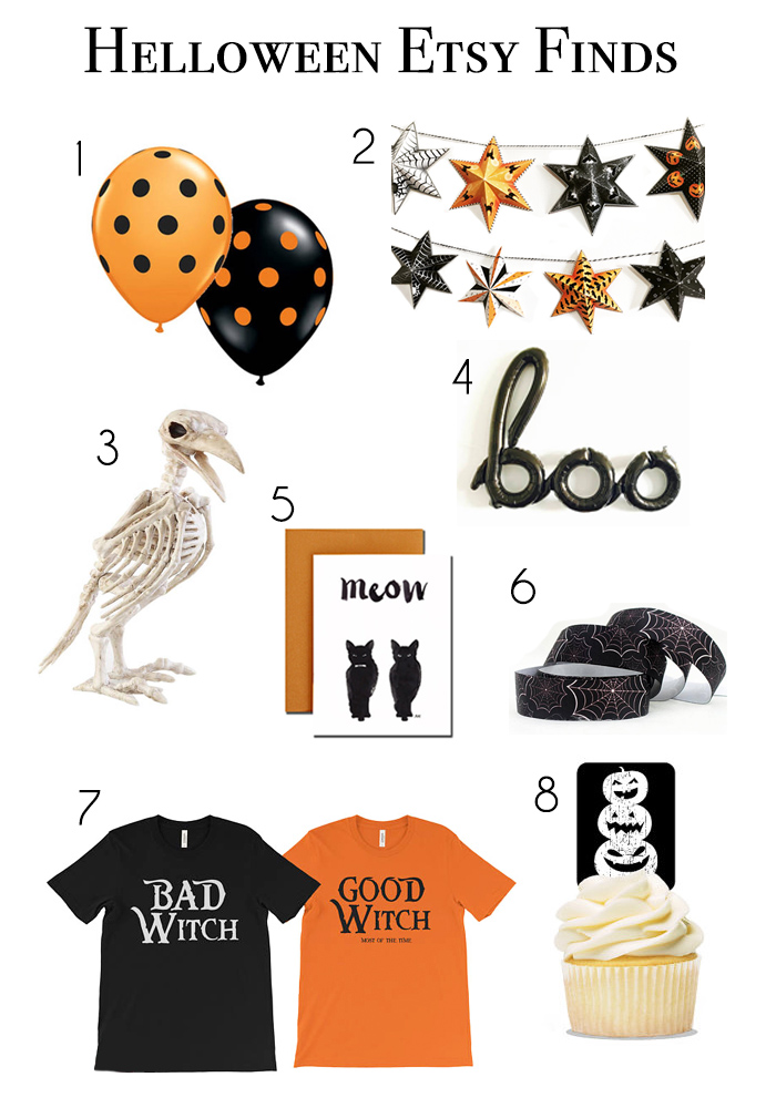 halloween etsy finds