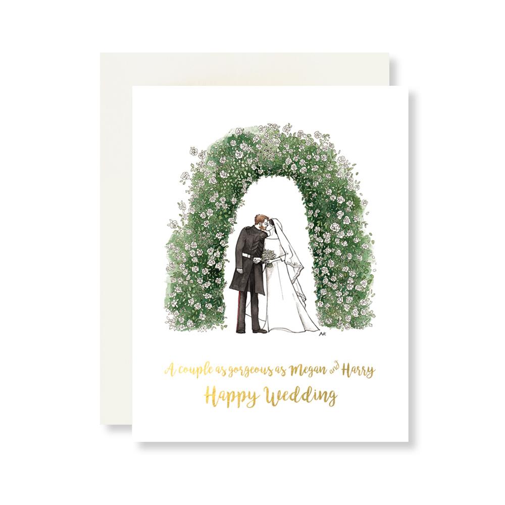 Megan & Harry Wedding Card