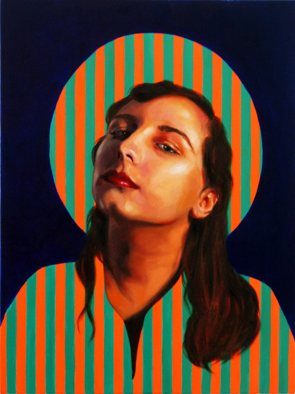 Ruby Chew, Maryanne, Oil on Canvas, 65 x 45 cm, 2010