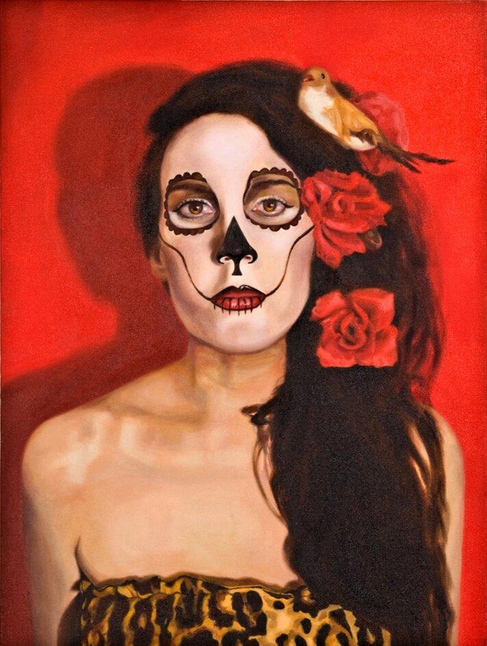 Ruby Chew, Ruby, Oil on Canvas, 65 x 45 cm, 2010