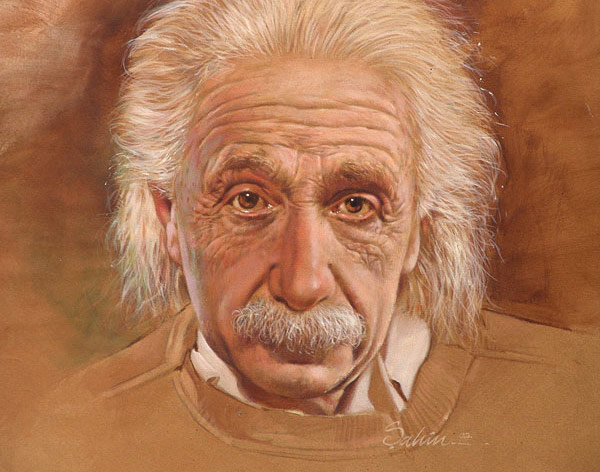 ... the man on the street could not name a single theoretical physicists other than Einstein, let alone understanding what a physicist does. So, why is he so famous? -