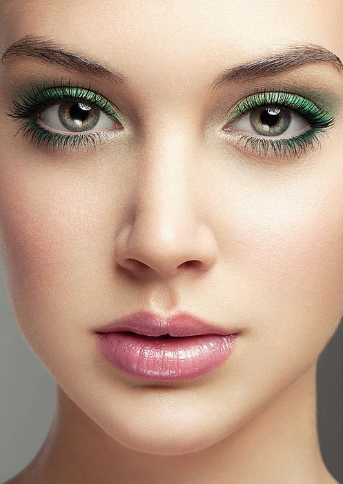 St Patricks Day Eye Makeup Ideas Savvy Hair Loft