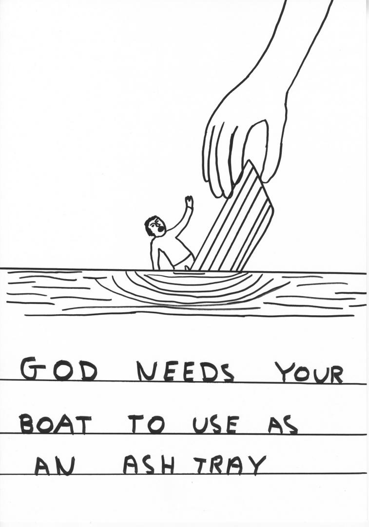 By David Shrigley.