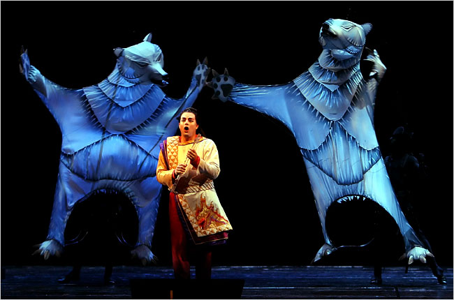 Julie Taymor's incredible puppetry designs for 'The Magic Flute.'