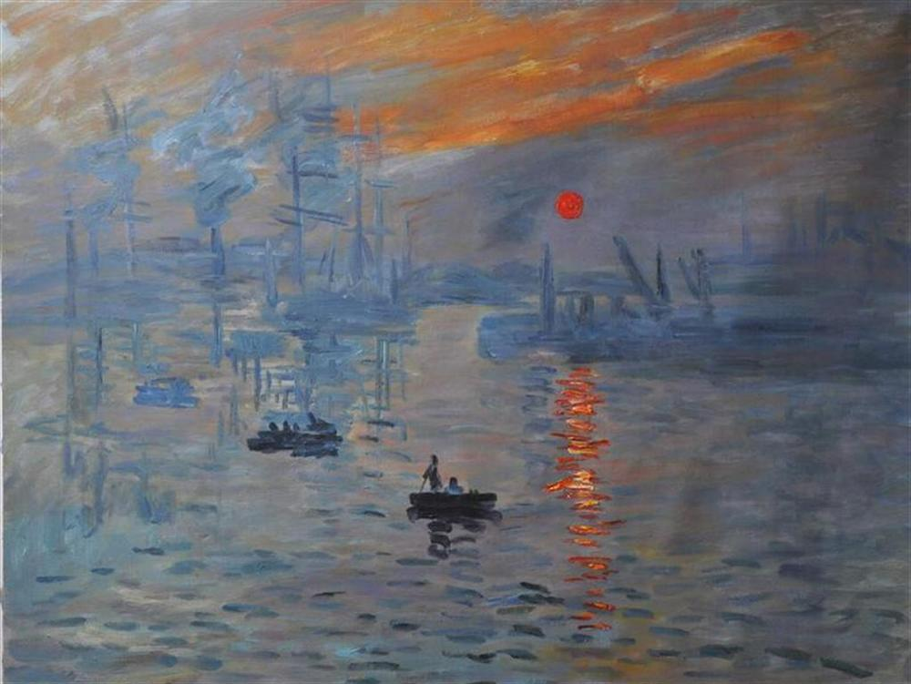 Monet, 'Impression Sunrise.'