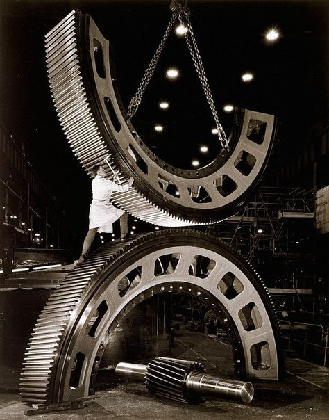 Wolfgang Sievers, '  Gears for mining industry at Vickers Ruwolt, Burnley, Melbourne', 1967.