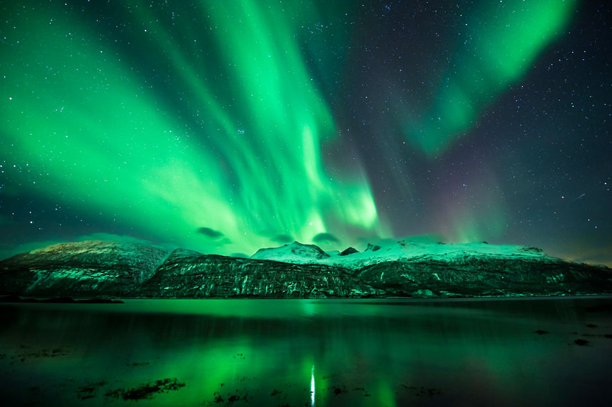 Aurora Borealis over Norway. Photo by Tommy Eliassen.