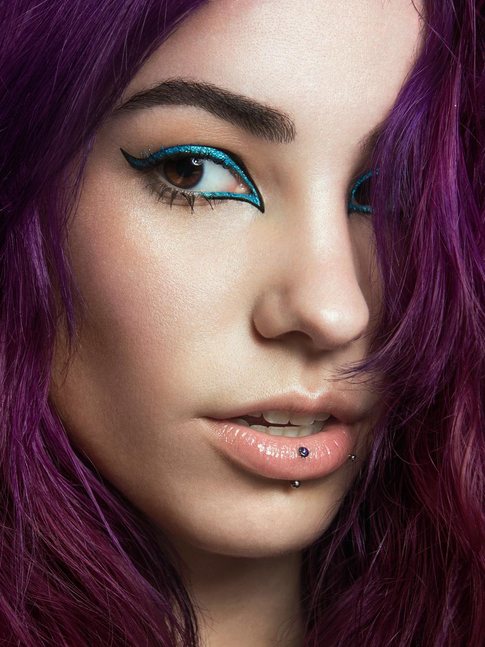 Model: Okidoki Okami. Makeup: Risa Robins-Moloney. Post-production: Marina Dean-Francis.