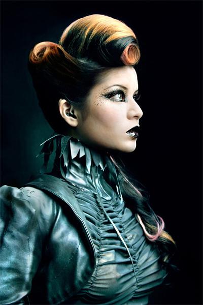 Model: Lumi Valkoinen. Fashion: Mother of London. Makeup: Nelly Recchia. Hair: Holly Jones.