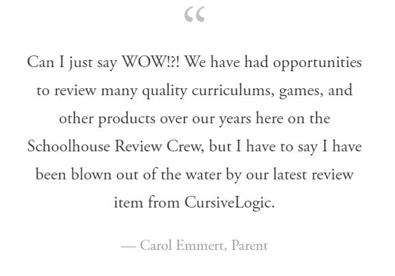 Carol Emmert, Review Crew Blogger